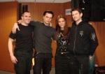 Clauzzen con Jan, Vasi,Felix