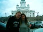 Clauzzen con Eicca (Apocalyptica) Helsinki,Finlandia