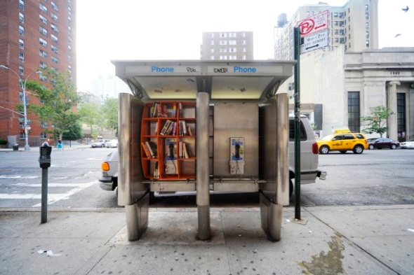 Guerrilla PayPhones Libraries