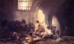 Francisco Goya, Casa de locos (Madhouse),1819