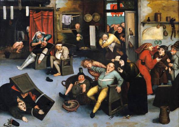 piedra locura Brueghe l