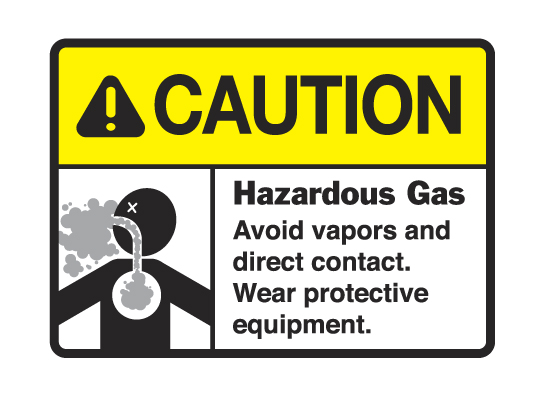 CAUTION_HAZARDOUS_GAS_SIGN