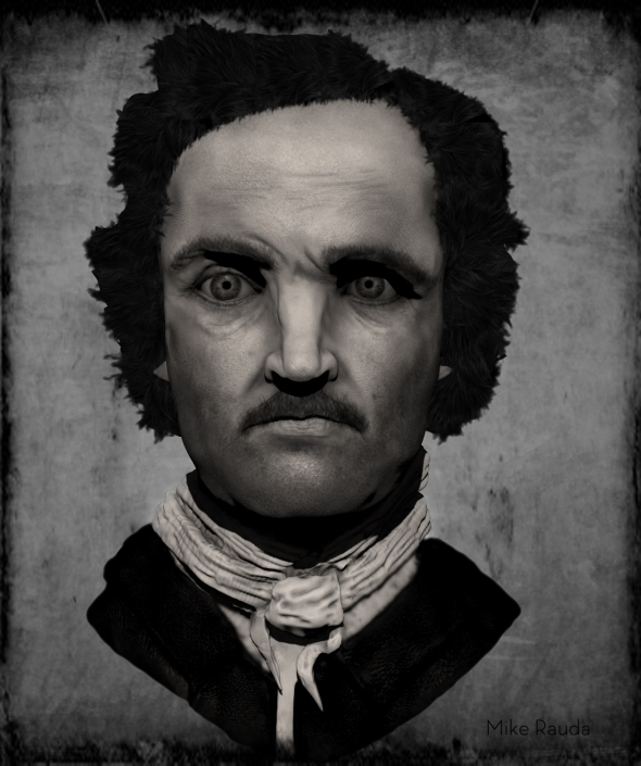 Edgar Allan Poe (by Mike Rauda)