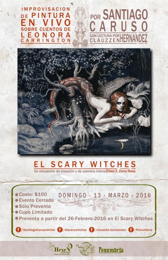 Flyer-Caruso-El-Scary