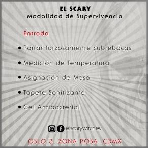 El Scary Banner Entrada