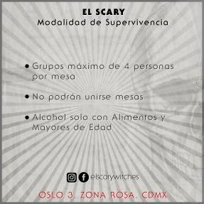 El Scary Banner Mesas