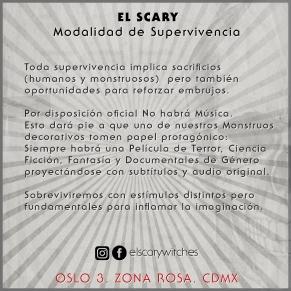 El Scary Banner No Musica